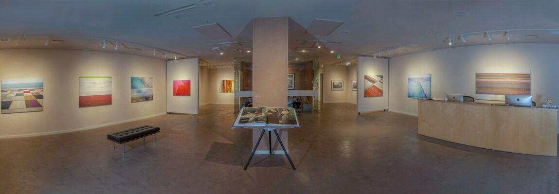 Salt & Veld-Aerial photographs by David Burdeny, installation view