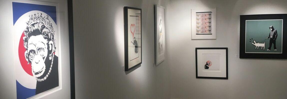 Banksy Exhibition, installation view