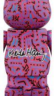 Keith Haring, 'Keith Haring Bearbrick 1000% Companion (Keith Haring BE@RBRICK)', ca. 2018