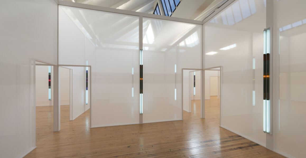 Robert Irwin, 'Excursus: Homage to the Square³', 1988