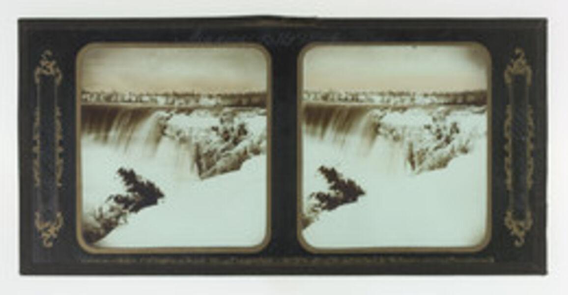 Frederick and William Langenheim, 'Niagara Falls Winter Views, Table Rock, Canada Side', 1850-1854