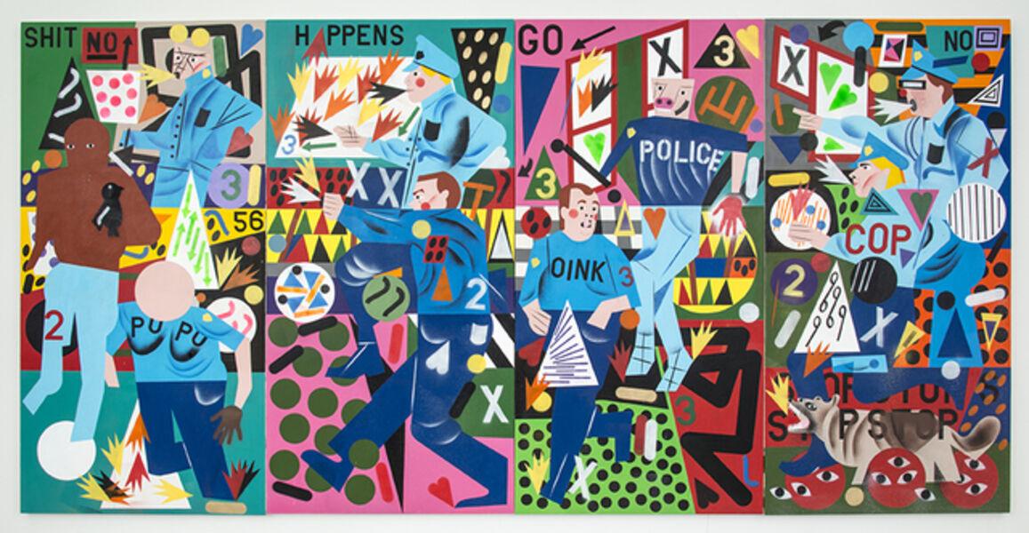 Nina Chanel Abney, 'Why', 2015