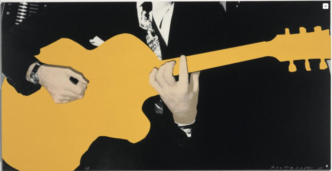 John Baldessari, 'Person with Guitar (Yellow), 2005 ', 2005