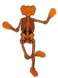 Orange Companion Skeleton