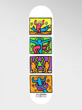 Keith Haring Retrospect Skateboard Deck