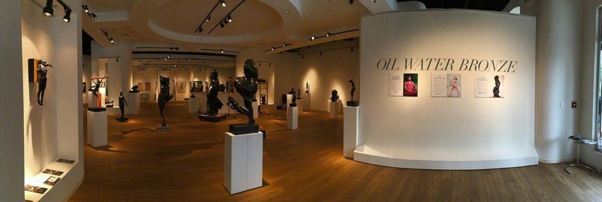 Oil Water Bronze, featuring Nadine Robbins, Ali Cavanaugh and Gary Weisman, installation view