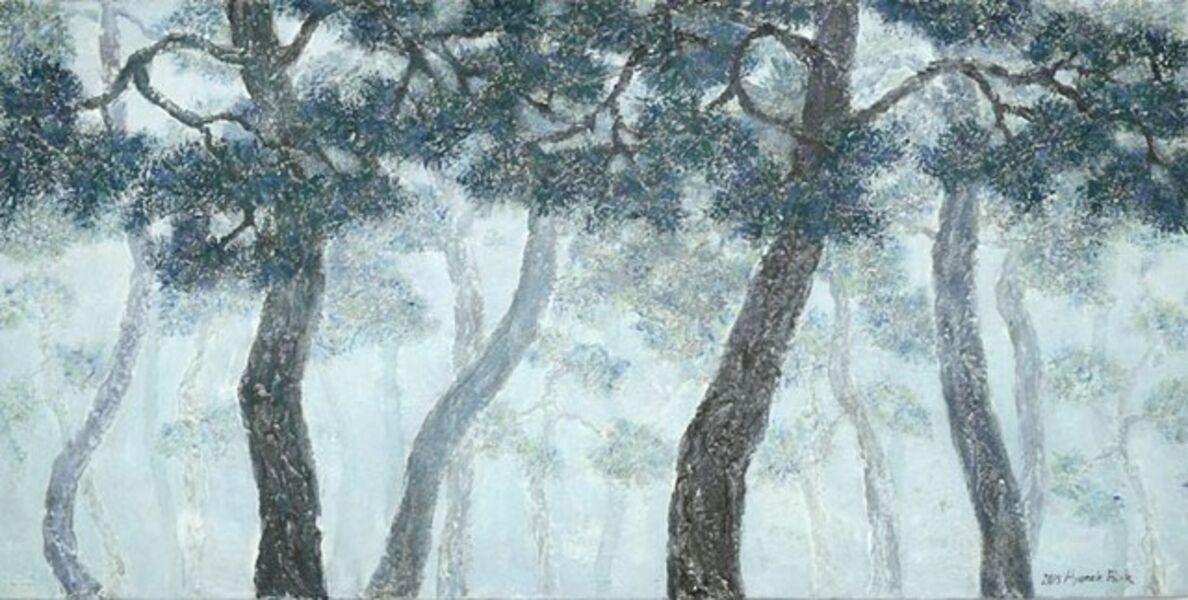 Hyun Ok Park, 'The study of forest 15-2', 2015