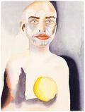 Self-Portrait with Lemon Heart