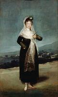 Francisco de Goya, 'Portrait of the Marquesa de Santiago', 1804