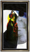 Paul Jenkins, 'Paul Jenkins Large Original Phenomena Monotype Signed Modern Abstract Painting', 1993