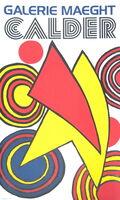 Alexander Calder, 'Triangles Et Spirales', 1973