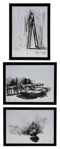 Agustín Bejarano, 'Triptych - Serie: Ritos del Silencio', 2006
