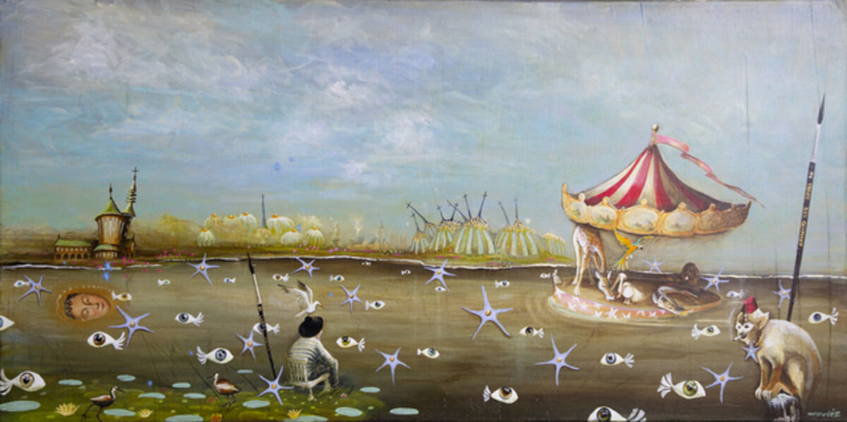 Xaviéz, 'Reflection of the artist', 2018