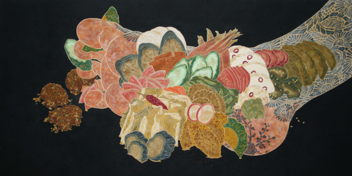 Hiroomi Ito, 'Nourish III (Pickles On The Sole)', 2016