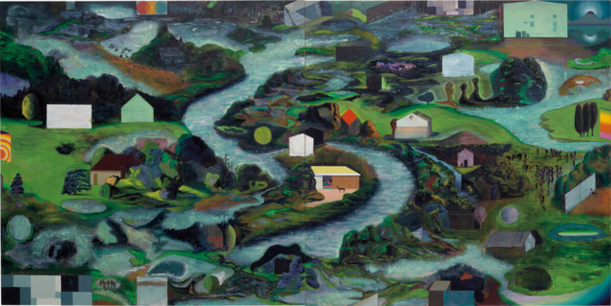 Christian Hidaka, 'Island Culture (Green River)', 2005 -2007