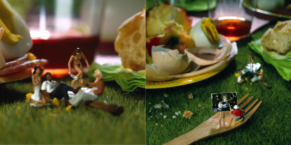 Akiko Ida & Pierre Javelle (Minimiam), 'Déjeuner sur l'herbe'