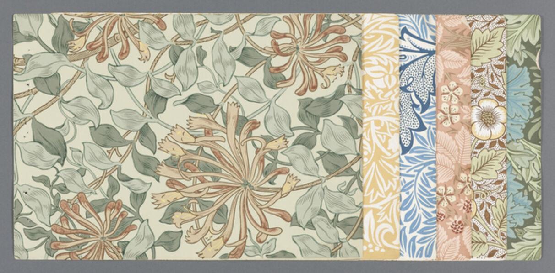 William Morris (1834-1896), 'Sample book', 1887