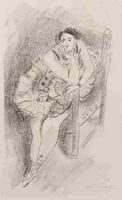 Henri Matisse, 'Danseuse au Fauteuil, En Bois (from Dix Danseuses)', 1927