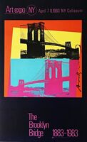 Andy Warhol, 'The Brooklyn Bridge Centennial (Hand Signed by Andy Warhol)', 1983