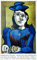 Pablo Picasso, 'Dora Maar (Femme Assis) 1955', 1955