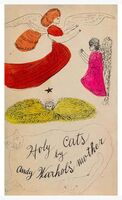 Andy Warhol, 'Warhol, Holy cats by Andy Warhol's Mother, Offset Lithograph, 1954', 1950-1959