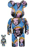 BE@RBRICK, 'Marylin Monroe by Andy Warhol 100% and 400%', July 2020