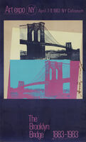 Andy Warhol, 'The Brooklyn Bridge 1883-1983 (Not In F./S.)', 1983