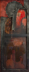 Robert La Vigne, 'Red: Descent of the Image', ca. 1958