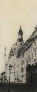 Manaf Halbouni, 'Rampische Straße in Dresden mit Blick auf die Augustus Moschee', 2020