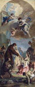 Sebastiano Ricci, 'A Miracle of Saint Francis of Paola', 1733