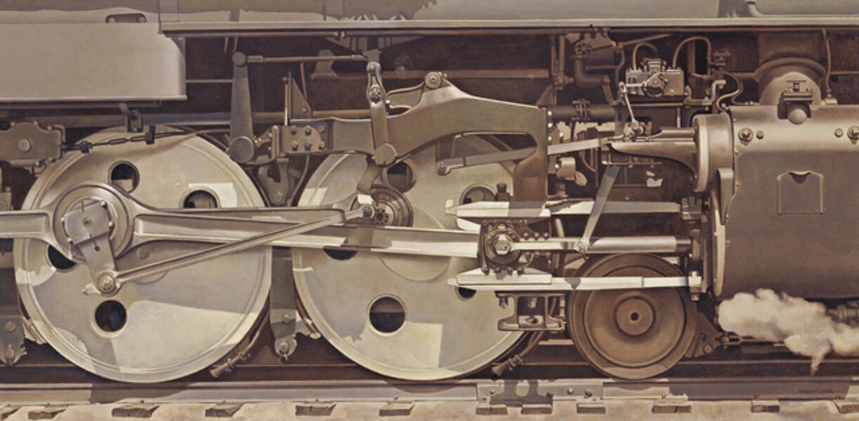Charles Sheeler, 'Rolling Power', 1939