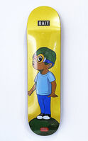 Hebru Brantley, ''Fly Boy' Skateboard Deck', 2019