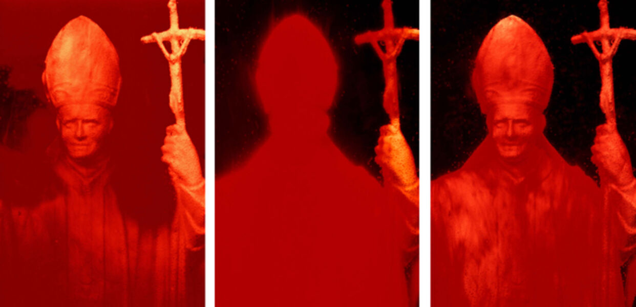 Andres Serrano, 'Red Pope, I, II and III (Immersions)', 1990
