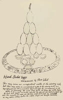 Andy Warhol, 'Hard Boiled Eggs', 1959