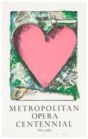 Jim Dine, 'A Heart at the Opera', 1980-1990