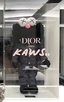 KAWS, 'Kaws BFF Dior Plush Black', 2018