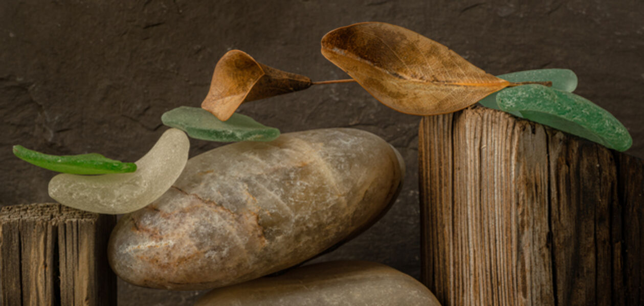Allan Markman, 'Still Life with Stone, Wood and Glass'