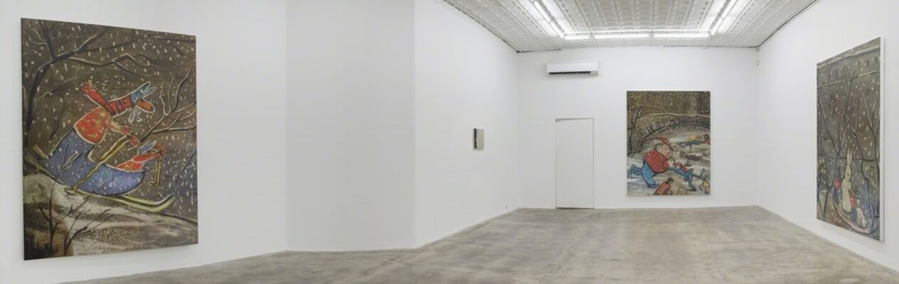 Rudolf Stingel: Part VIII, installation view