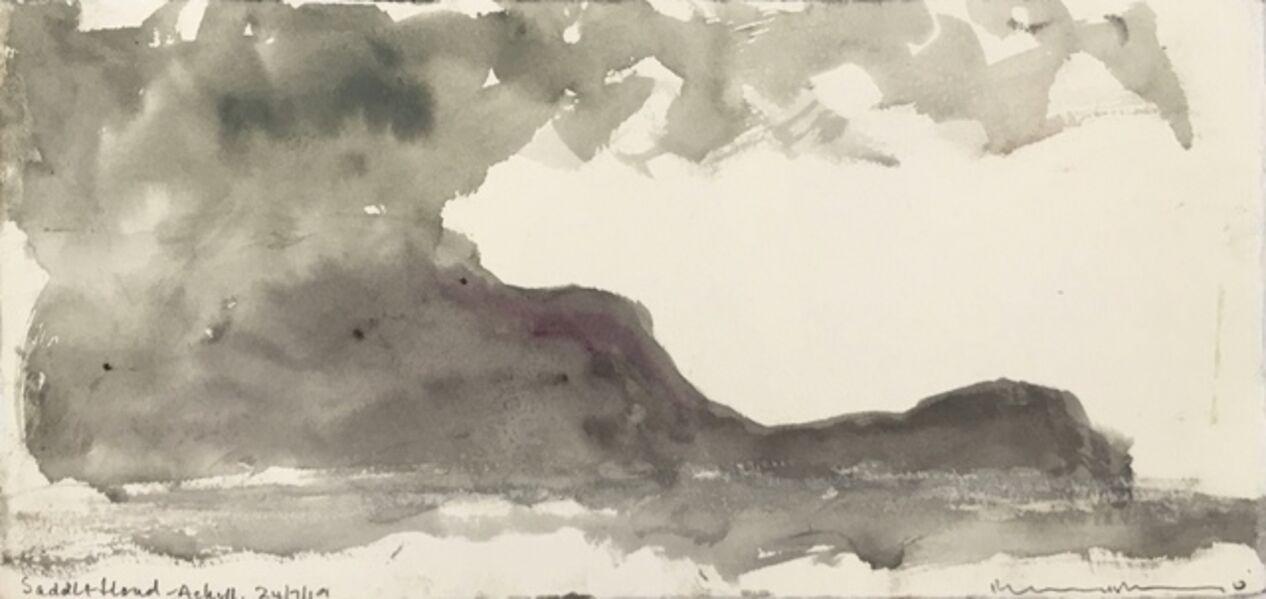 Norman Ackroyd, 'Saddle Head - Achill (II)', 2019