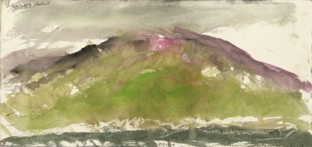 Norman Ackroyd, 'Slievemore - Achill', 2019