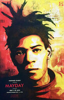Shepard Fairey (OBEY), 'Shepard Fairey Basquiat Poster', 2010