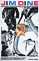 Jim Dine, 'The Robert Fraser Gallery print', 1965
