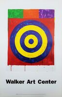 Jasper Johns, 'Walker Art Center (Target 1974)', 1989