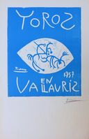 Pablo Picasso, 'Toros en Vallauris, 1957', 1957
