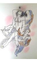 "Original Lithograph ""White Book"" by Jean Cocteau"