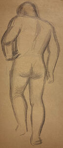 Jared French, 'Untitled (Male Figure) [Hand on Hip]', 1930