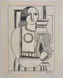 Femme tenant un Vase