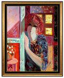 Mahmoud Sabzi Rare Oil On Canvas Original Painting Signed Authentic Framed Art