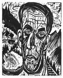 """""""Portrait of Henry Van de Velde between Mountains"""""""