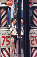 Saul Leiter, 'Haircut', 1956